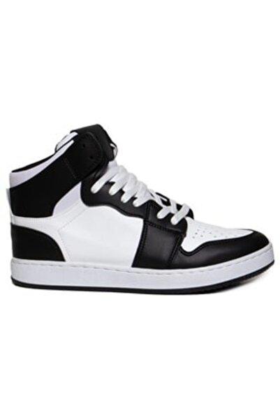 tozlupapuç Unisex Siyah Beyaz Basketbol Ayakkabısı