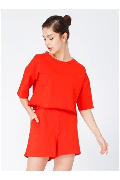 Fabrika Kadın Kırmızı  T-Shirt