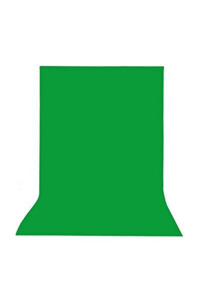 Efsane 400 X 160 Cm Greenbox Chromakey - Green Screen- Yeşil Fon Perde Kumaş Yesil Fon