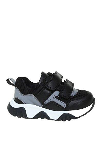 Mammaramma Erkek Bebek Siyah Yürüyüş Ayakkabısı