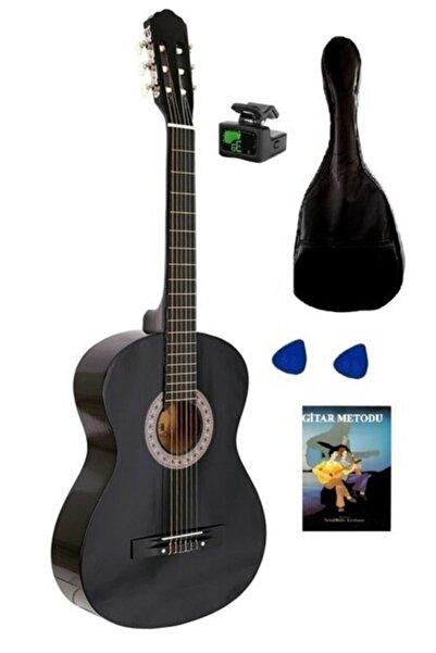Nano Müzik Gitar Set, 4/4 Tam Boy Klasik Gitarı Seti ,gitar, Kılıf, Akort Cihazı, Eğitim Kitabı Ve Pena
