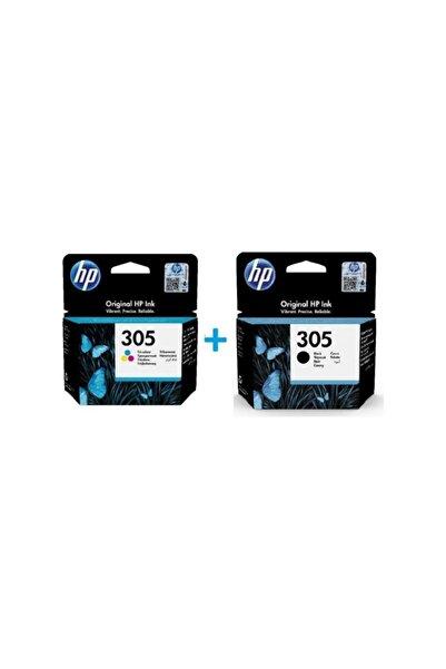 HP 305 Sıyah Ve Renkli Kartuş ( 3ym61ae + 3ym60ae )