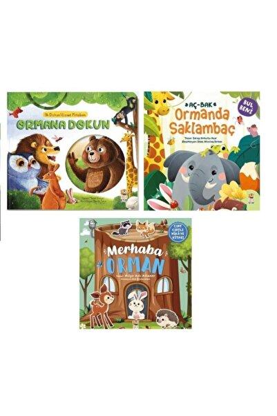 SmartFox Sincap Kitap Ormana Dokun Hisset - Merhaba Orman Ve Ormanda Saklambaç 3'lü Set