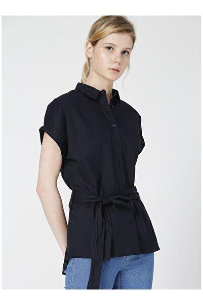 Fabrika Kadın Lacivert Gömlek