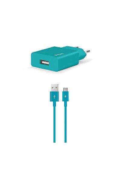 Ttec Smartcharger Seyahat Şarj Aleti 2.1a + Type-c Kablo