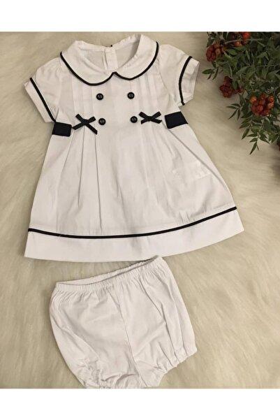 Bebetto Dokuma Bebe Yaka 2'li Takım Elbise