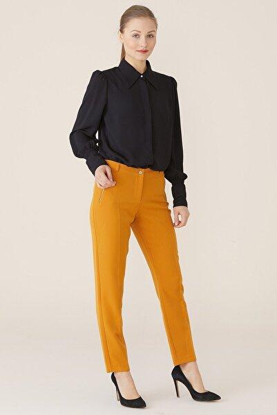 Nihan Kadın Hardal Pantolon