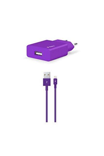 Smartcharger Seyahat Şarj Aleti 2.1a + Lightning Kablo