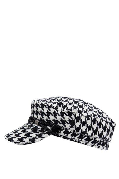 DeFacto Kadın Karma Desenli Kasket Şapka R8183AZ20WN