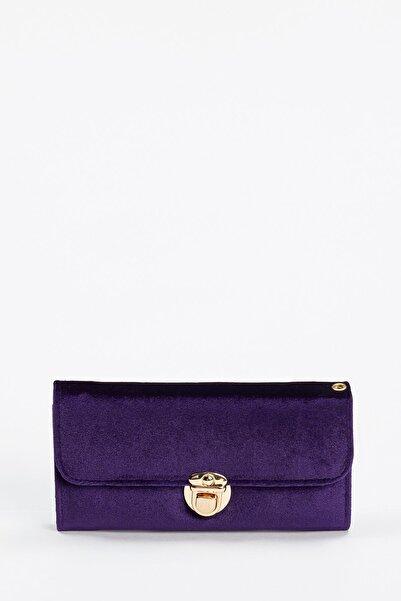 DeFacto Kadın Purple Kadife Cüzdan S3417AZ20WN