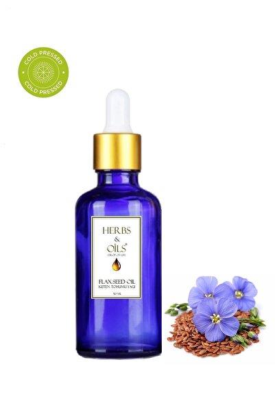 Herbs & Oils Keten Tohumu Yağı 50 Ml ( Soğuk Sıkım )