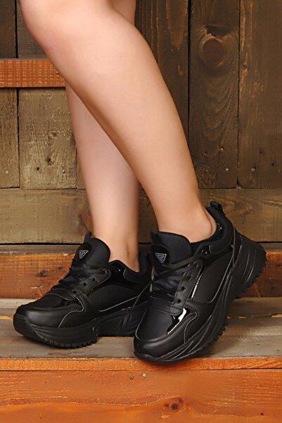 ROYJONES Kadın Sneakers Faylon Ortopedik Taban Günlük Spor Ayakkabı Rj5