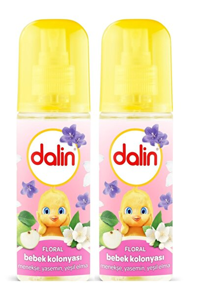 Dalin Floral Bebek Kolonyası 150 ml X 2 Adet