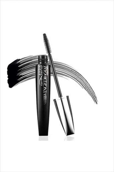 AVON Siyah Maskara - Super Extend Winged Out Mascara Blackest Black 8681298932192
