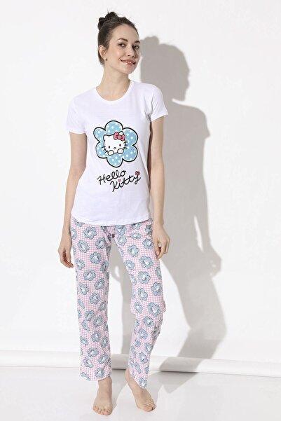 Arma Life Hello Kitty Baskılı Pijama Takımı - Pembe
