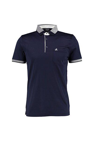 Sarar Erkek Lacivert Premium Polo Yaka  T-shirt