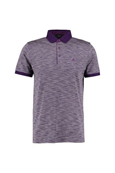 Sarar Erkek Mor Polo Yaka T-shirt