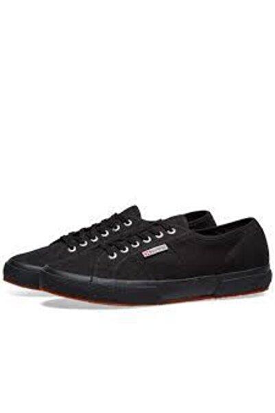 Superga Unısex Siyah Keten Ayakkabı