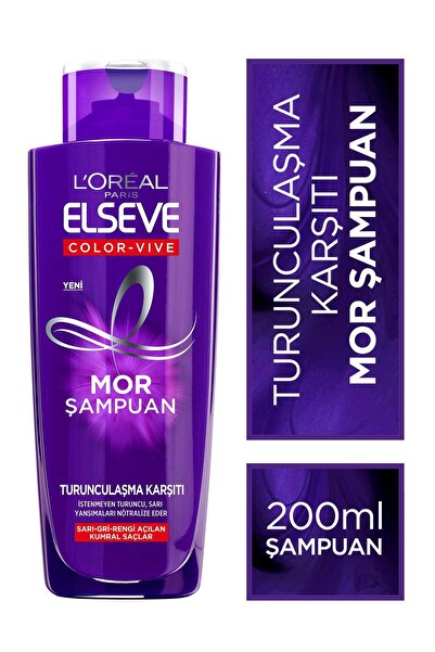 L'oréal Paris Elseve Turunculaşma Karşıtı Mor Şampuan 200ml