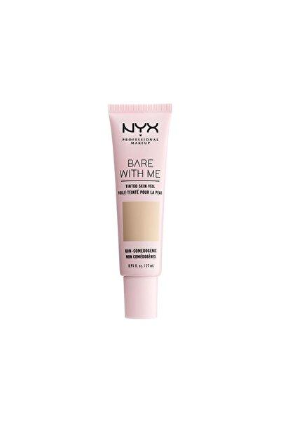 NYX Professional Makeup Renkli Nemlendirici - Bare With Me Skin Veil 02 Vanilla Nude 800897188221