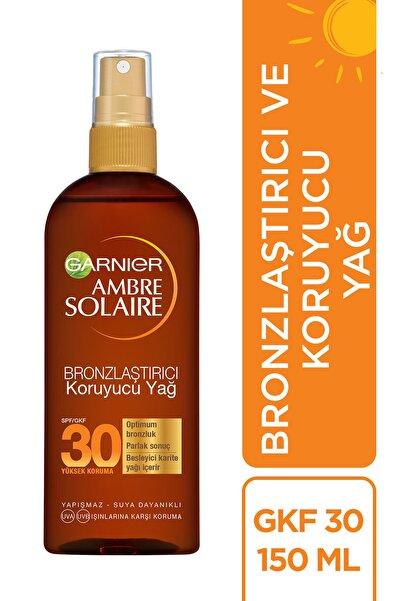 Garnier Ambre Solaire Bronzlaştırıcı Koruyucu Yağ Spf30 150ml