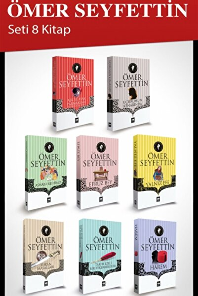 Ötüken Neşriyat Ömer Seyfettin Seti (8 Kitap) - Ömer Seyfettin 9799754371801