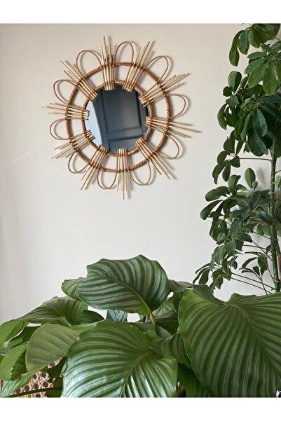 Milena Home Papatya Model Bambu Ayna