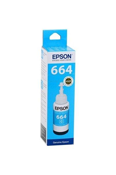EPSON 664 Orjinal Mavi Mürekkep L382 L386 L3050 L3060 L210