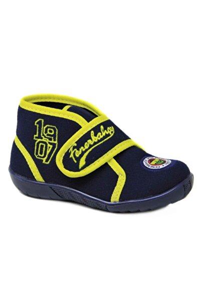 Hakan Çanta 58505 Cırtlı Fenerbahçe Çocuk Panduf Kreş Ev Ayakkabısı