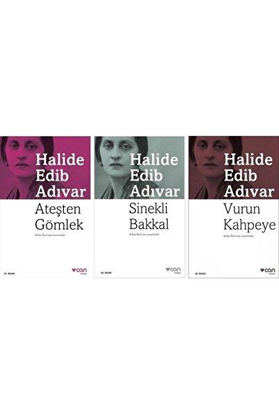 Can Yayınları Ateşten Gömlek / Sinekli Bakkal / Vurun Kahpeye ( 3 Kitap Set )