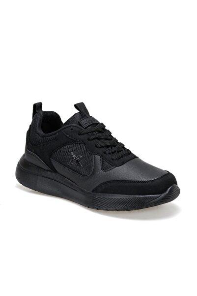Kinetix Mundu Erkek Siyah Suni Deri Ayakkabı