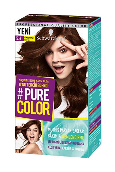 PURE COLOR Saç Boyası 5.6 Çikolatalı Sufle