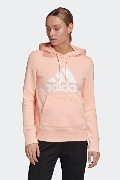 adidas Badge Of Sport Pullover Kadın Bej Sweatshirt (GC6918)