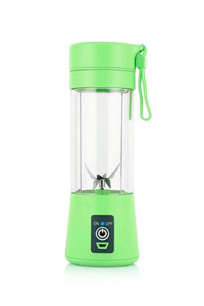 Mobee Yeşil Şarjlı Mobil Blender Smoothie Mikshake Margarita Bebek Mama Ve Içecek Karıştırıcı
