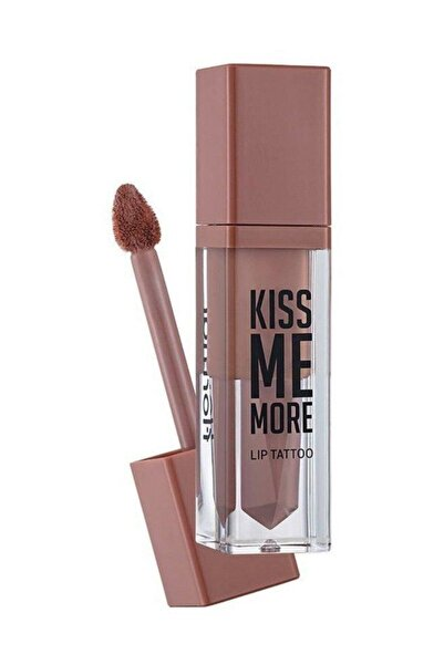 Flormar Kiss Me More Lip Tattoo Açık Pembe Nude Ruj 001 8690604572816