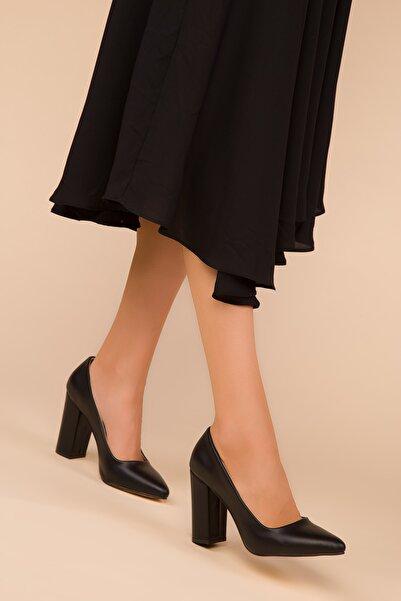 SOHO Siyah Kadın Klasik Topuklu Ayakkabı 15313