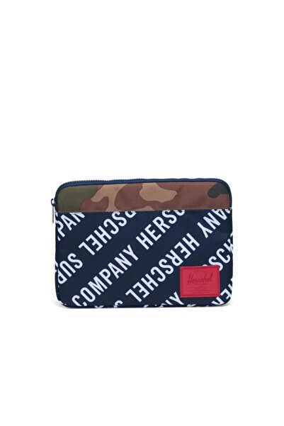 Herschel Supply Co. Herschel Anchor Sleeve For New 13 Inch Macbook Roll Call Peacoat/woodland Camo Laptop Kılıfı
