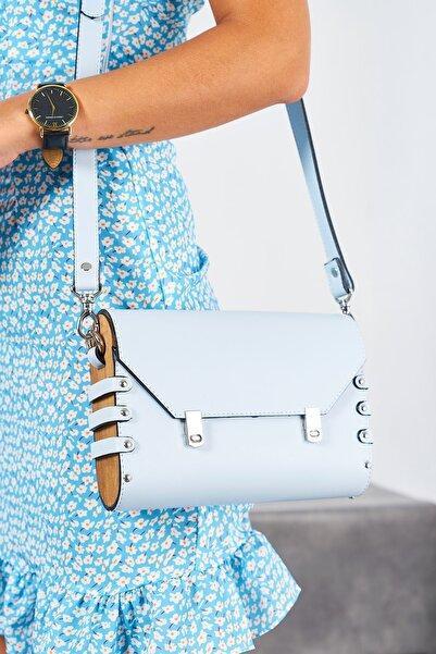 Louis Cardy Kadın Roxy Mavi Omuz Çantası