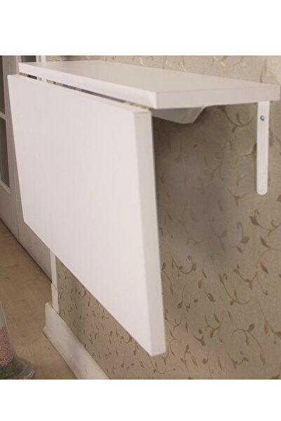 Ankaflex Katlanır Mutfak Masası Duvara Takılan Monteli Katlanır Masa 60x90 cm