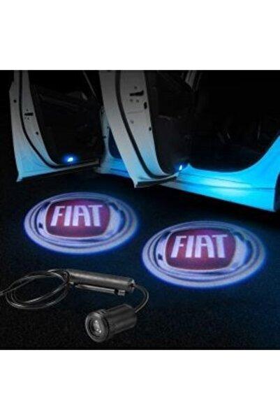 Apex Fiat Logolu Kapı Altı Hayalet Logo 2 Adet