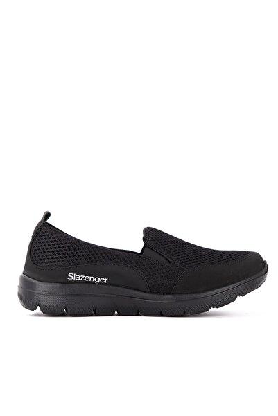Slazenger Madıson Günlük Giyim Kadın Ayakkabı Siyah / Siyah