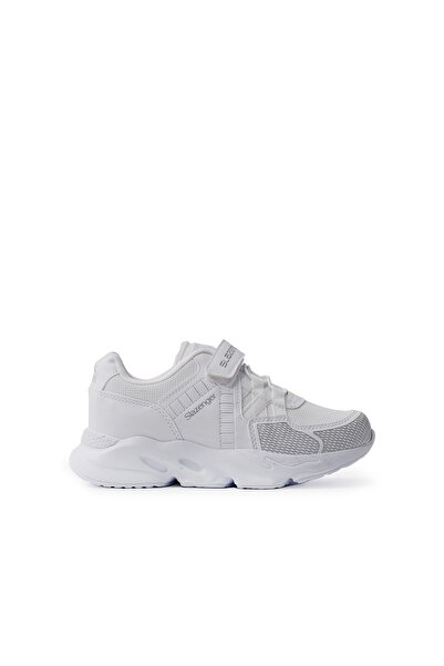 Slazenger Kıd Spor Çocuk Ayakkabı Beyaz / Gümüş