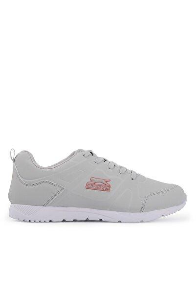 Slazenger Ironıc Koşu & Yürüyüş Kadın Ayakkabı Gri / Pembe