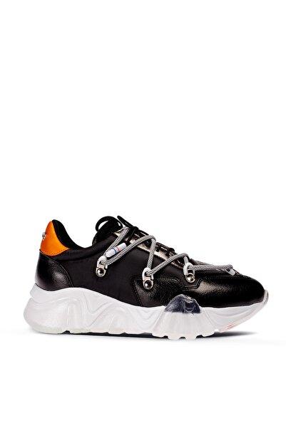 Deery Kadın Siyah Sneaker Ayakkabı