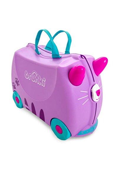 Trunki Çocuk Pembe Bavulu Kedi Cassie