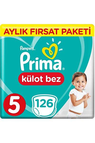 Prima Külot Bebek Bezi 5 Beden 126 Adet Aylık Fırsat Paketi
