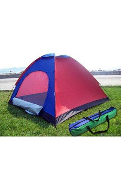 Onetick 4 Kişilik Kamp Çadırı 200*200*135 Cm Kolay Kurulumlu 4 Kişilik Çadır