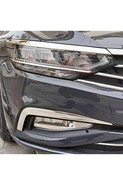 S Dizayn S-dizayn Vw Passat B8.5 Krom Sis Farı Çerçevesi 2 Parça 2019 Ve Üzeri A+kalite