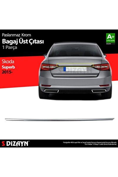 S Dizayn S-dizayn Skoda Superb Krom Bagaj Çıtası 2015 Üzeri