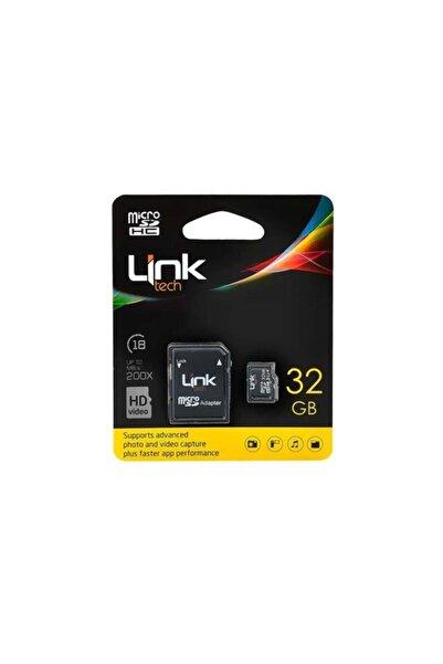 Link Tech Linktech 32gb Hafıza Kartı Micro Sdhc Ultra M105 Class 10 + Adaptörlü